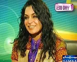 Hum Log (Actress Meera EID Special Interview) - 9th august 2013