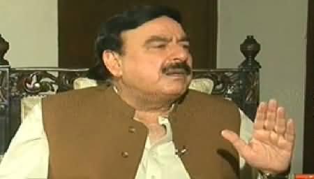 Hum Log (Sheikh Rasheed Ahmad Special Interview) - 28th June 2014