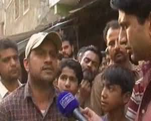 Hum Log (Watch the Current Situation of Lyari) - 15th March 2014