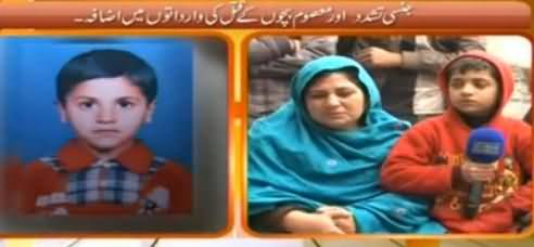 Hum Log (Ziadati Ke Baad Qatal Hone Wale Bachey Ki Family Se Guftugu) – 17th January 2015