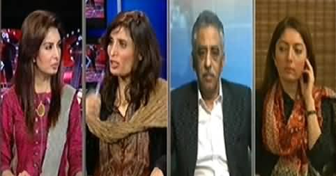 Hum Sub (What is the Target of Political Parties in Jalsas) - 21st November 2014