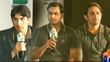 Humein Tum Se Pyar Hai (Special Talk with Pakistani Cricket Team) – 2nd February 2014