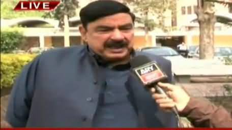 I Am Going To India To Support Pakistani Team - Sheikh Rasheed