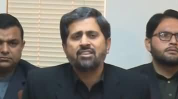 I Challenge Mushahid Ullah Khan - Fayaz Chohan Press Conference - 14th November 2018