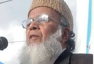 I don't Need any Certificate From Altaf Hussain - Syed Munawar Hassan