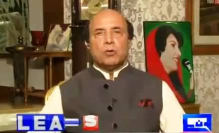I Have Strong Evidences, PM's Disqualification Is Inevitable - Lateef Khosa