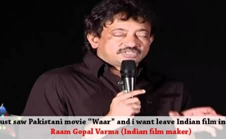 I Just want To Leave India and Go to Pakistan - Ram Gopal Varma Stunned after Watching Pakistani Movie Waar