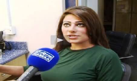 I Love Imran Khan, Watch Manahil Shah Who Specially Came From Dubai to Join PTI Jalsa