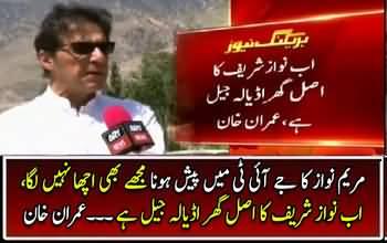 I too did not like that Maryam Nawaz had to present before JIT_ Imran Khan