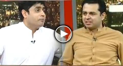 Ibrar ul Haq Badly Irritates Talal Chaudhry With His 35 Punctures Poem