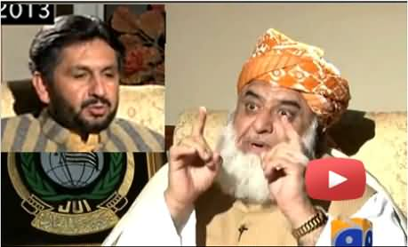 If Imran Khan's dog Gets killed in a drone attack will you also call him a martyr - Saleem Safi asks Fazal ur Rehman