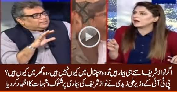 If Nawaz Sharif Is That Much Ill, Why He Is At Home, Why Not In Hospital? - Ali Zaidi