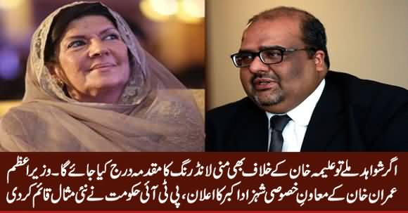 If We Find Evidence, Money Laundering Case Will Be Filed Against Aleema Khan - PM's Adviser