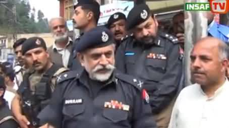 IG KPK Nasir Durrani Openly Hearing the Problems of Malakand Division People