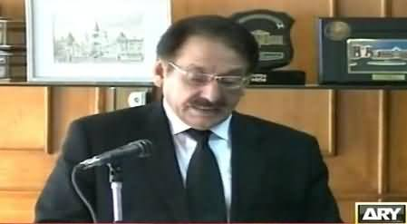 IHC Directs Govt To Immediately Provide Bullet Proof Car To Ex CJ Iftikhar Muhammad Chaudhry