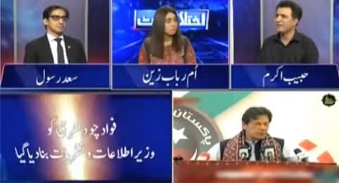 Ikhtalafi Note (Imran Khan Reshuffle Cabinet Again) - 16th April 2021