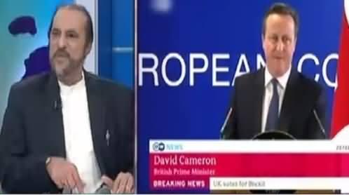 Ikhtalafi Note With Babar Awan (UK PM David Cameron Resigned) – 24th June 2016