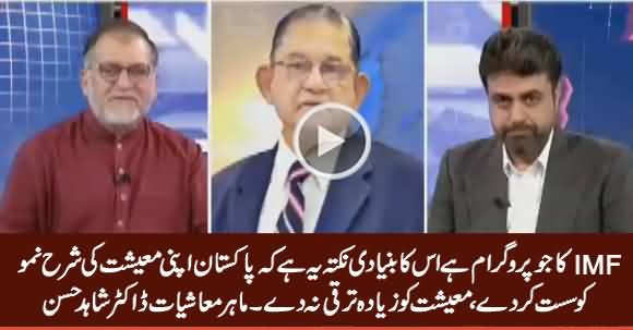 IMF Program's Basic Point Is That Pakistan Should Lower Its Economic Growth - Dr. Shahid Hassan