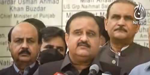 Important Meeting About TLP's Protest Held Under CM Punjab Usman Buzdar's Chair Today