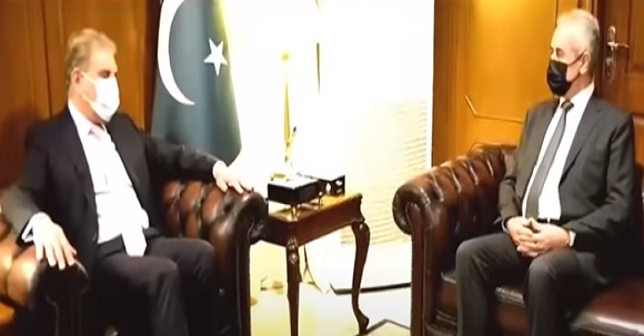 Important Meeting Of FM Shah Mehmood Qureshi And Palestinian Ambassador Held Today