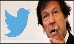 Imran Khan became 7th most popular leader on Twitter