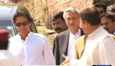 Imran Khan Coming to Karachi Today , Will Meet Abdul Sattar Edhi & Amjad Sabri's Family