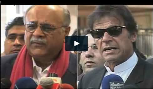 Imran Khan Criticizes Najam Sethi For Bad Performance and M Hafeez For Bad Decision