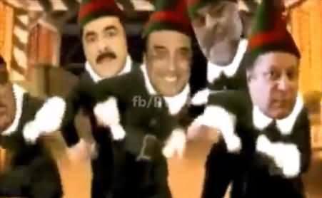 Imran Khan De Jalsey Ch Aj Mera Nachne Nu Ji Karda, Really Interesting Video