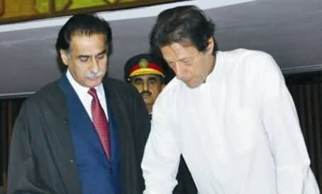 Imran Khan Decides Not to Appear Before Speaker National Assembly For Resignation