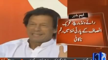 Imran Khan DecideS to Run Fundraising Campaign for Raiwind March