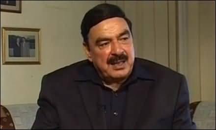 Imran Khan Didn't Consult Me Before Announcing Civil Disobedience Movement - Sheikh Rasheed