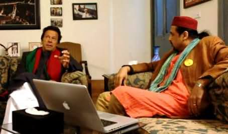 Imran Khan Discussion with Salman Ahmad on Polio Ending Efforts by PTI