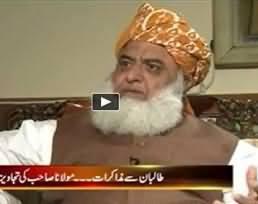Imran Khan does not have the energy to Run the Province - Maulana Fazal ur Rehman