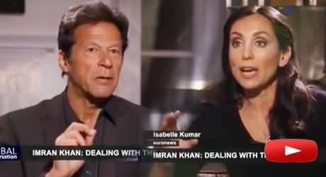 Imran Khan Exclusive Interview to Global Conversation on Peace Talks Issue