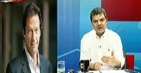 Imran Khan Exclusive Talk to Mubashir Luqman on Current Political Situation - 24th August 2014