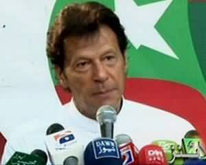 Imran Khan Full Press Conference - 4th August 2013 (On Different Issues including Maulana Fazal ur Rehman Allegations)