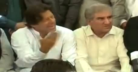 Imran Khan in Really Angry Mood, Taunts PTI Workers During Media Talk