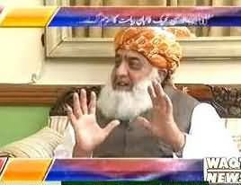 Imran Khan is a Jewish Agent and I am Stick with My Stance - Maulana Fazal ur Rehman