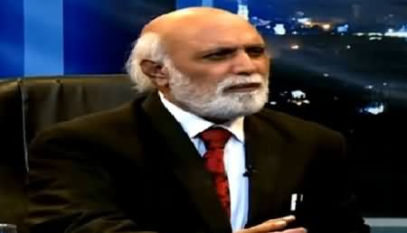 Imran Khan is Not Much Intelligent and He Does Not Understand Politics - Haroon Rasheed