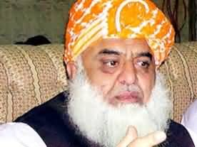 Imran Khan is not Sincere with Pakistan - Maulana Fazal ur Rehman