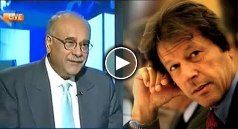 Imran Khan is Working on the Signals of ISI - Najam Sethi