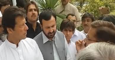 Imran Khan Meeting With Common People In Peshawar