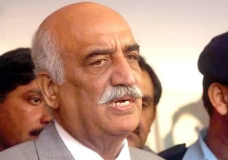 Imran Khan's Demand of Nawaz Sharif's Resignation is Not Good - Khursheed Shah