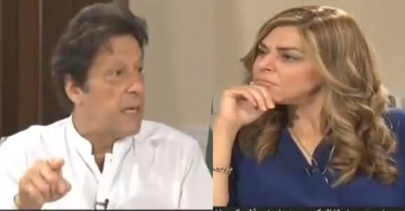 Imran Khan's Exclusive Interview With Sana Bucha - 2nd July 2018