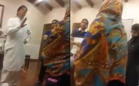 Imran Khan's Leaked Video, Inside Bani Gala, Talking With Ladies
