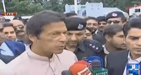 Imran Khan's Media Talk After Inauguration of Malam Jabba Chairlift