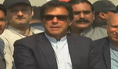 Imran Khan's Media Talk in Faisalabad - 11th March 2018