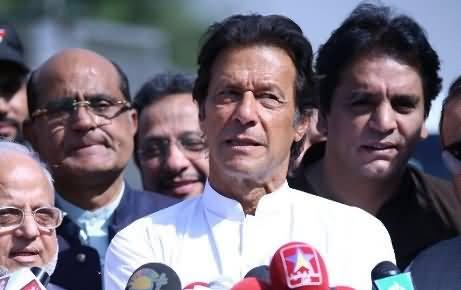 Imran Khan's Reply To Rana Sanaullah For Calling Him