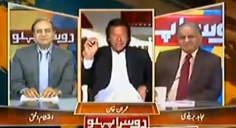 Imran Khan's Reply to the Blame of Najam Sethi That Imran Khan is Taliban Khan