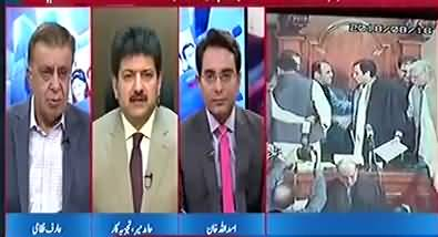 Imran Khan short lists two names for CM Punjab - Hamid Mir
